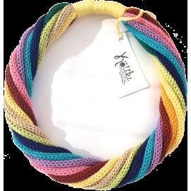 Colier handmade tricotat