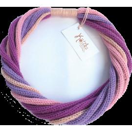 Colier tricotat